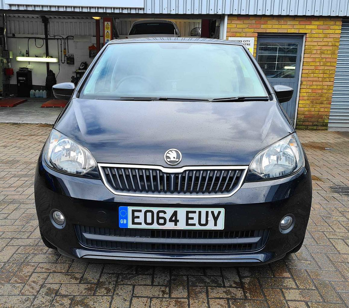 SKODA Citigo 1.0 MPI 60PS Black Edition Hatchback 5-Dr