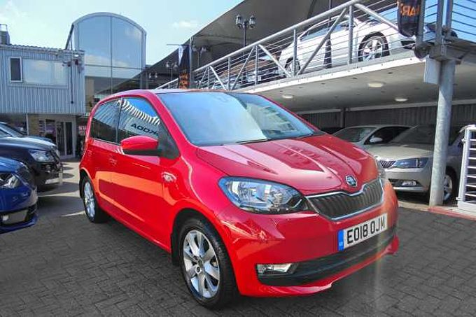 SKODA Citigo 1.0 MPI (75PS) SE L Hatchback 5-Dr
